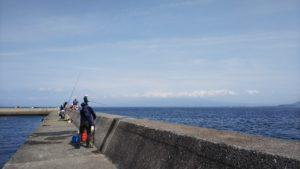 ダヤンテールの釣り 内浦