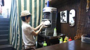 【富士宮市 スイーツ】『天竺屋』製氷屋の生フレッシュシロップの純氷かき氷