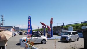 静岡市由比港 浜のかきあげや さくらえび